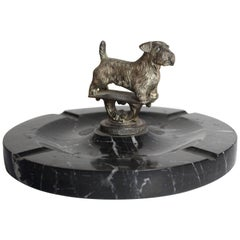 Terrier Marble Ash Tray