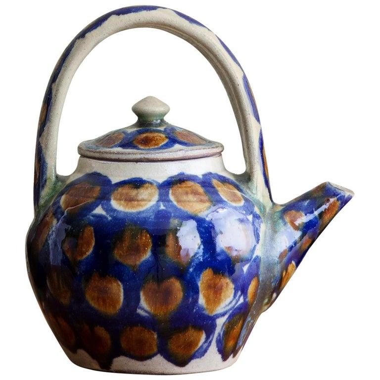 Japanese Ceramic Teapot For Sale