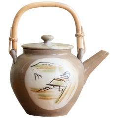 Vintage Japanese Ceramic Teapot