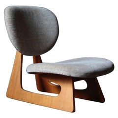 Lounge Chair Designed by Junzo Sakakura Manufactured by Tendo Mokko in Japan
