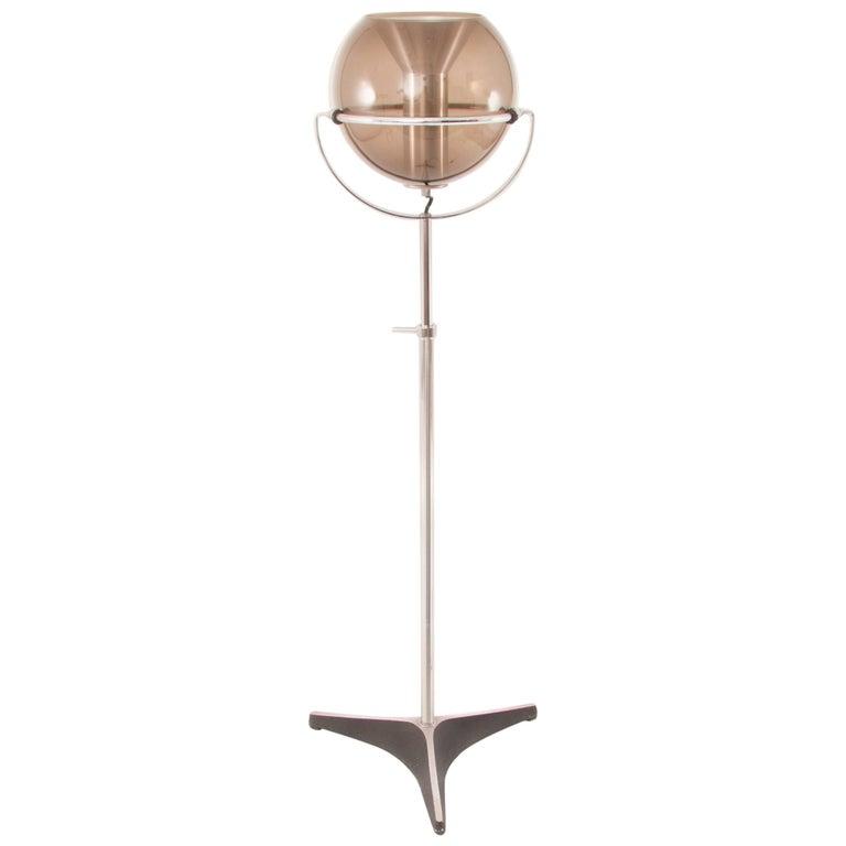 RAAK Globe 2000 Space-Age Midcentury Floor Lamp by Frank Ligtelijn, 1960s