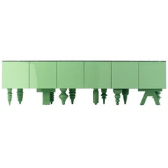 Jaime Hayon Green Multileg Showtime Cabinet