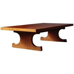 "Japanese Style Writing Desk ""Fumi Table"" by Isamu Kenmochi for Tendo Mokko"