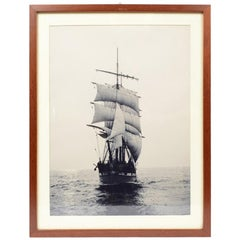 Sailer 1888, Only One Copy Taken from the Original Photographic Plate