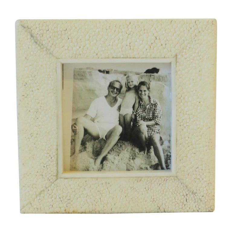 Shagreen Esque Picture Frame by R & Y Ausgosti