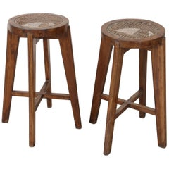 Stools by Pierre Jeanneret