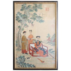 Chinese Painting Stamped