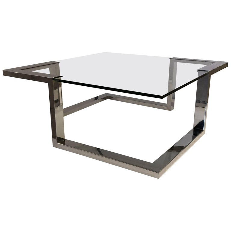 1970 Modernist Coffee Table For Sale