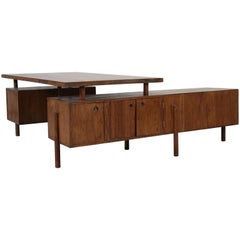Executive Administrative Desk by Pierre Jeanneret