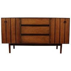 "Mid-Century Modern H. Paul Browning Stanley ""Royal American"" Credenza"