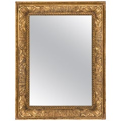 Late 19th Century American Mirror in a Gilded Frame