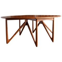 Niels Kofoed Gate-Leg Dining Table