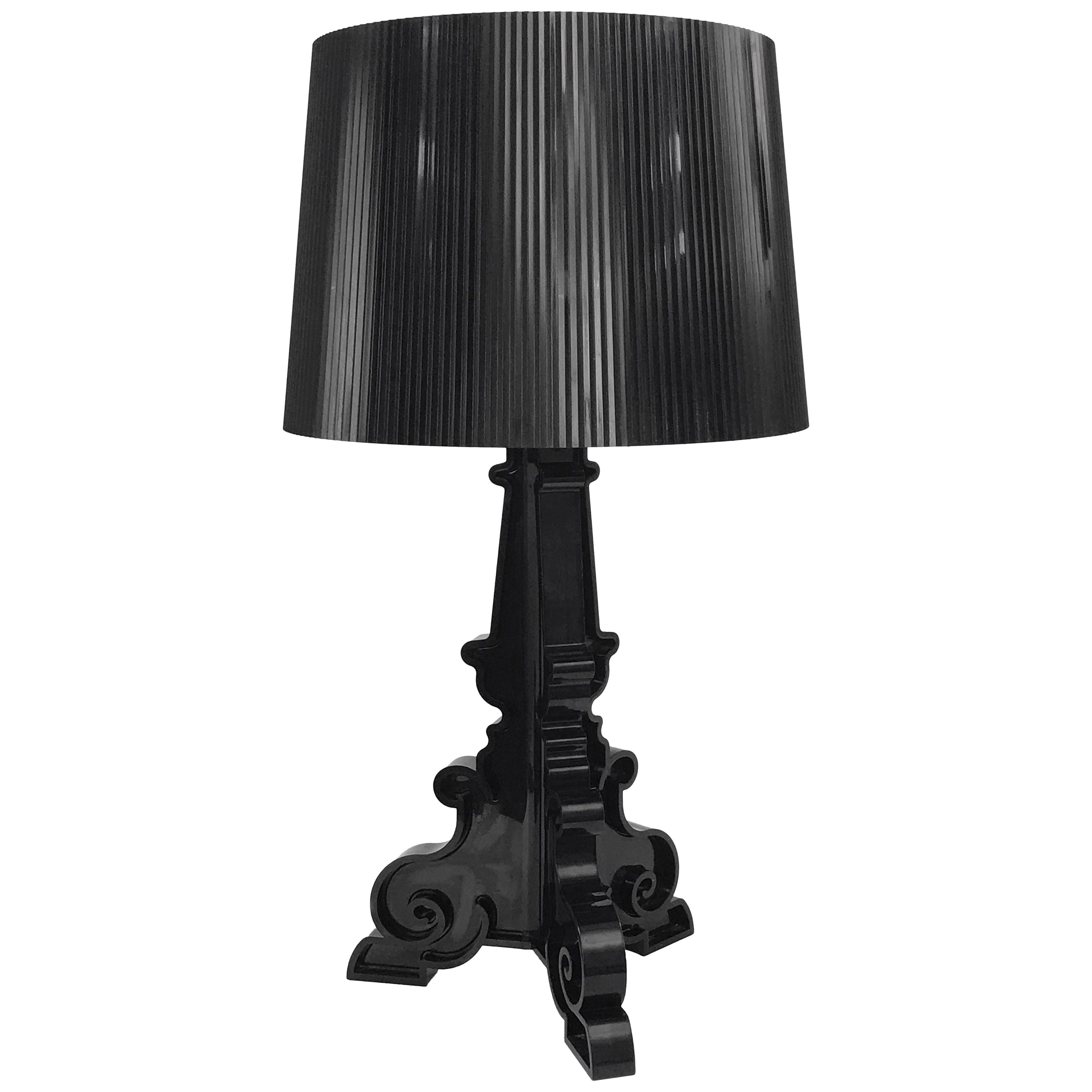 Table Lamp Kartell Bourgie Black by Ferruccio Laviani