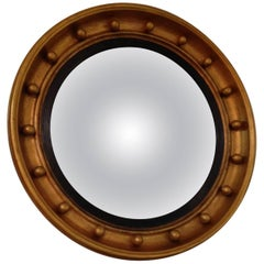 English Giltwood Bullseye Mirror, 1820s