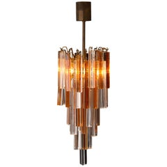 20th Century Murano Glass Design Chandelier by Marcel Barbier