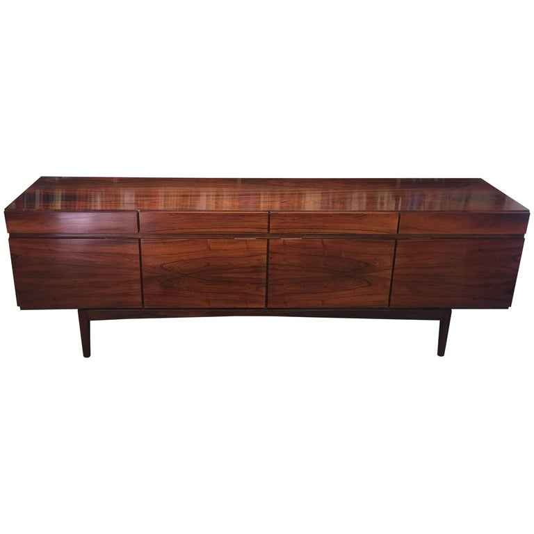 Rosewood Sideboard by Ib Kofod Larsen for Faarup