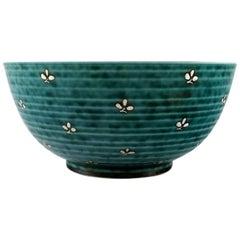 Wilhelm Kåge, Gustavsberg, Argenta Art Deco Bowl