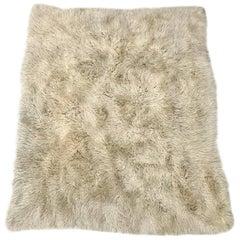 Vintage Wool Flokati Rug by Karamichos & Co.