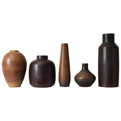 Carl-Harry Stålhane & Gunnar Nylund Collection of Decorative Vessels, 1950s