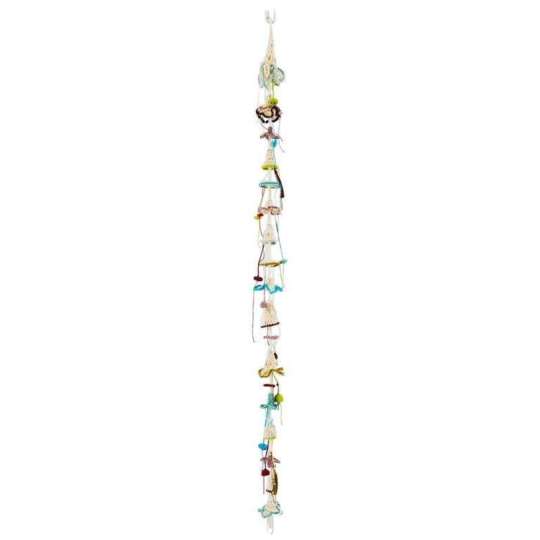 Iota Decorative Handmade Tassel Wall and Ceiling Hanging Crochet Cotton