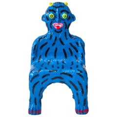 Blue Creature Child Chair by Brett Douglas Hunter, USA, 2018