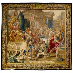 Brussels Historical Tapestry, circa 1700