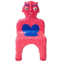 Pink Creature Child Chair by Brett Douglas Hunter, USA, 2018