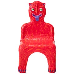 Red Creature Child Chair by Brett Douglas Hunter, USA, 2018