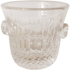 Saint-Louis Crystal Tommy Ice Bucket, Hand-Cut French Crystal Wine Cooler
