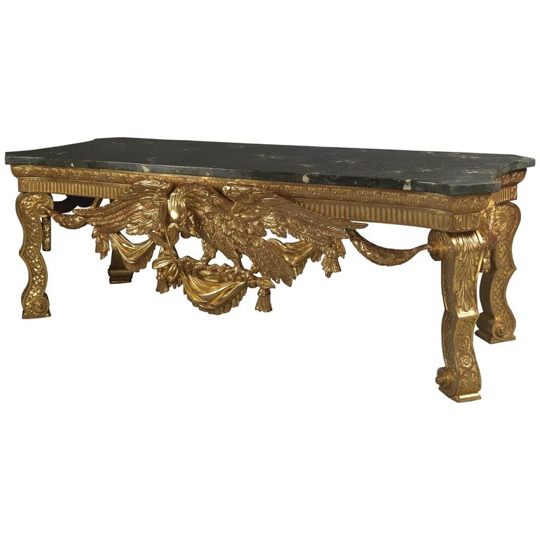George II Style Console Table in the Manner of William Kent