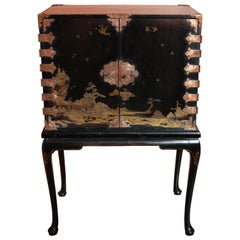 Chinoiserie Cabinet on Stand