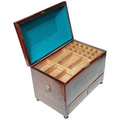 George III Mahogany Box