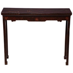 Chinese Lacquered Console Table