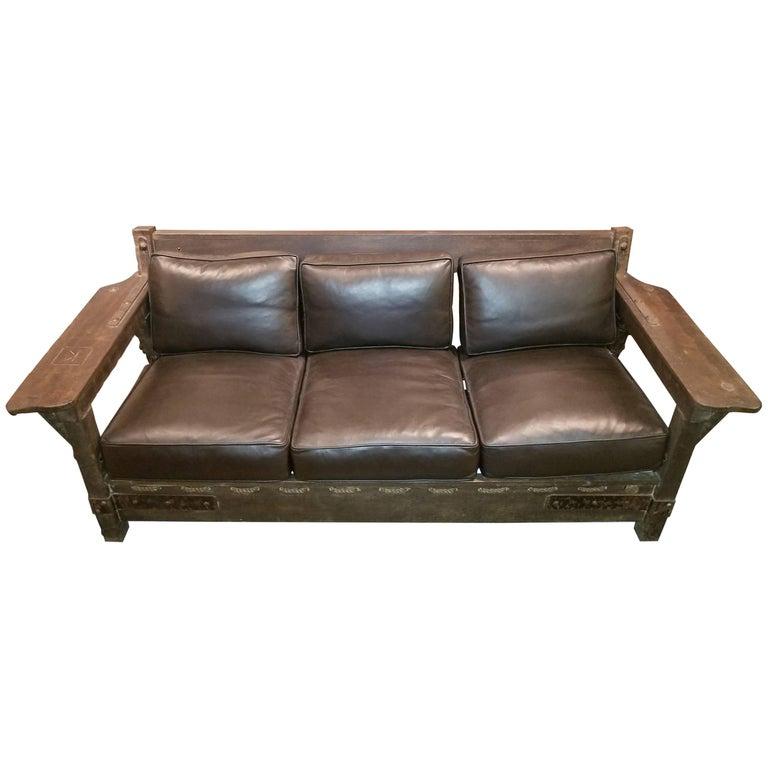 Monterey Leather Sofa