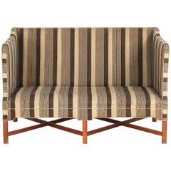 Kaare Klint 4118 Box Sofa, Rud Rasmussen, Denmark (complimentary re-upholstery)