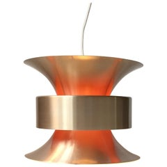 Vintage Swedish Brass Pendant Light by Carl Thore for Granhaga, 1960s