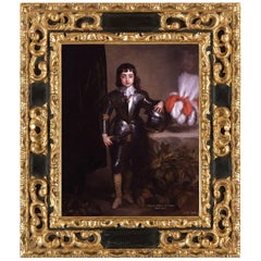 King Charles II, after Oil Painting by Baroque Revival Artist Anthony Van Dyck
