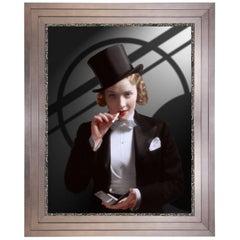 Marlene Dietrich, after Hollywood Regency Photo by Eugene Richee, Art Deco Era