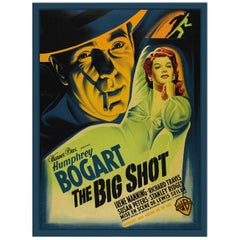 The Big Shot, after Vintage Movie Poster, Hollywood Regency Era