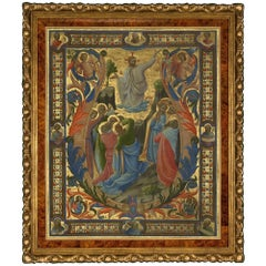 Ascension, after Italian Oil Painting by Renaissance Artist Lorenzo Monaco