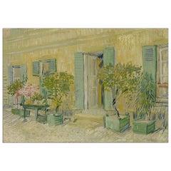 Cafe in Asnières, after Impressionist Oil Painting by Vincent Van Gogh