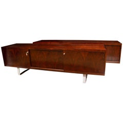 Pair of Rosewood Sideboards by Jorgen Pedersen