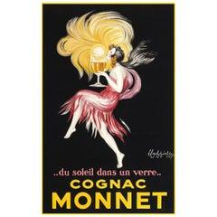 Cognac Monnet, after Vintage Poster by Leonetto Cappiello, Belle Époque Era