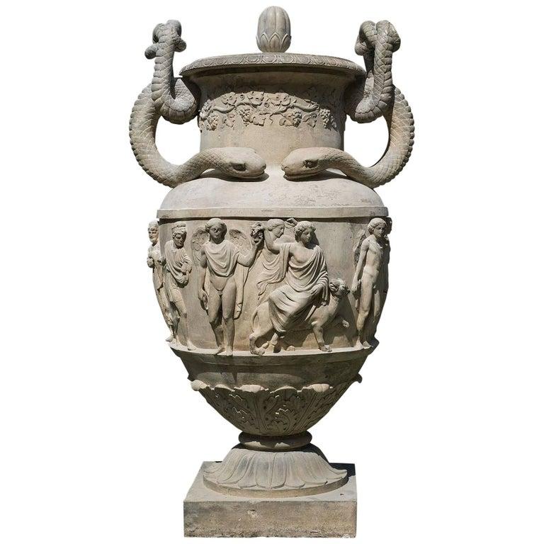 19th Century Regency Stoneware Urn