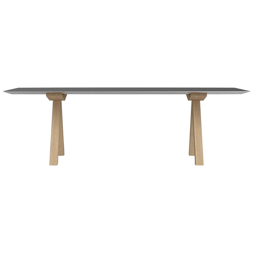 Table B 240cm with wooden legs