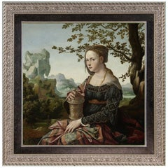 Mary Magdalene, after Renaissance Oil Painting by Dutch Master Jan Van Scorel