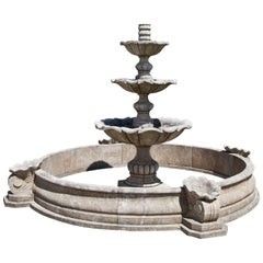 Baroque-Style Fountain, 21st Century