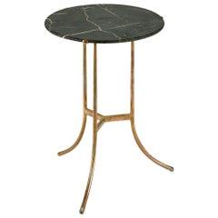 Cedric Hartman Marble Side Table, 1970