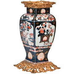 Louis XV Style Ormolu-Mounted Chinese Imari Porcelain Vase