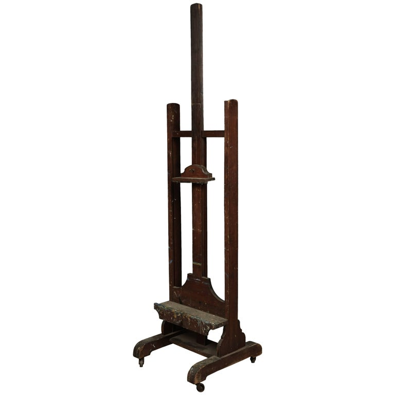 Superb Artist's Easel from France, circa 1920